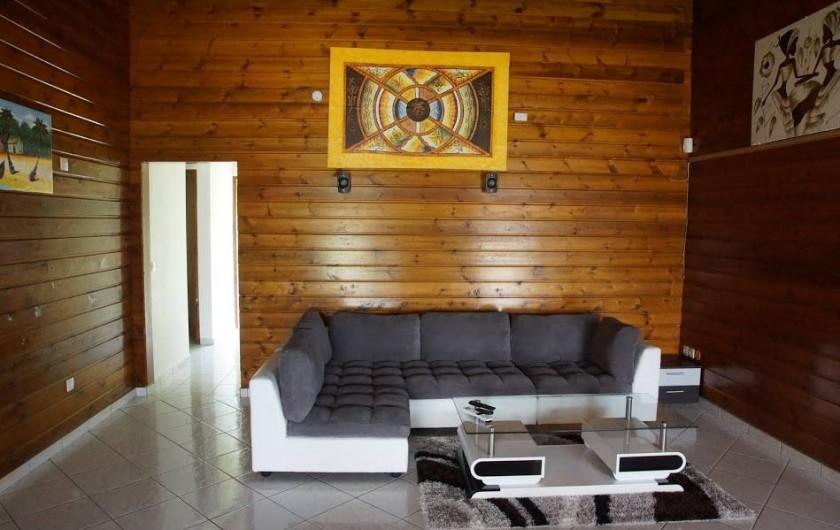 Location de vacances - Villa à Sainte Rose - salon