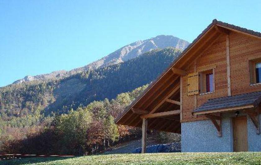 Location de vacances - Chalet à Saint-Léger-les-Mélèzes