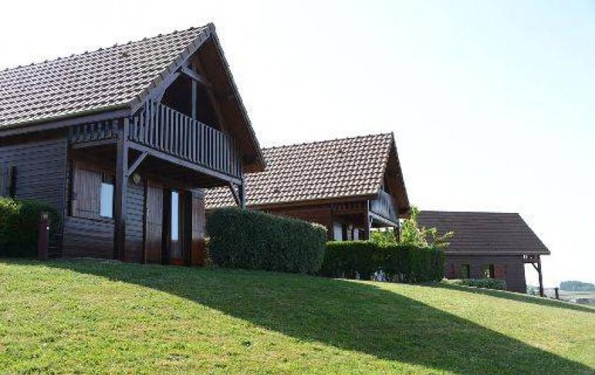 Location de vacances - Chalet à Dompierre-les-Ormes