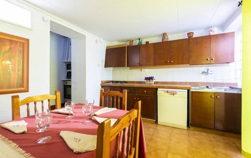 Location de vacances - Chalet à Les Cases d'Alcanar - Cuisine entièrement équipée