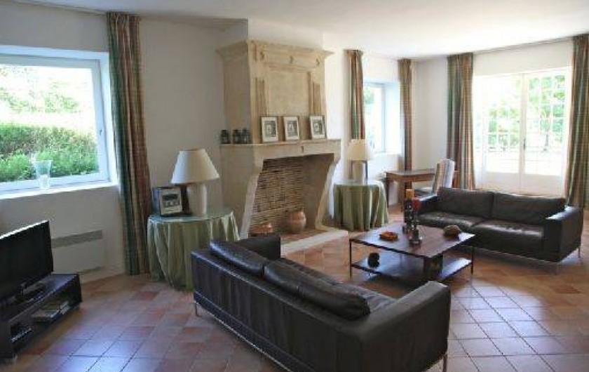 Location de vacances - Maison - Villa à Saint-Martin-de-Seignanx - Le salon