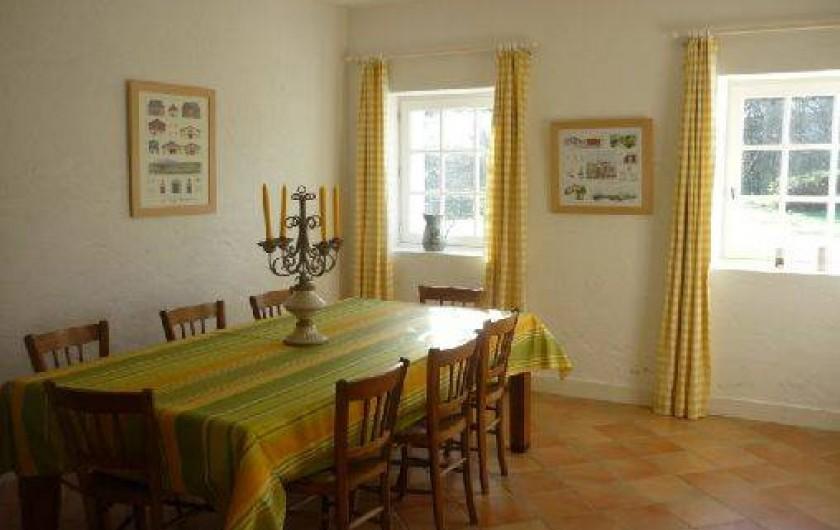 Location de vacances - Maison - Villa à Saint-Martin-de-Seignanx - La salle à manger