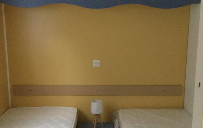 Location de vacances - Bungalow - Mobilhome à Ocana - Chambre 2 lits simples