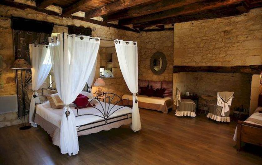 Location de vacances - Chambre d'hôtes à Valojoulx - chambre LES MELILOTS