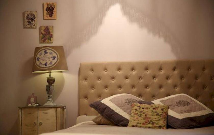 Location de vacances - Chambre d'hôtes à Valojoulx - chambre IRIS