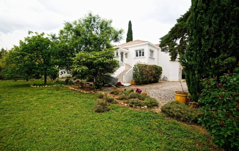 Location de vacances - Appartement à Saint-Jean-de-Fos - La maison