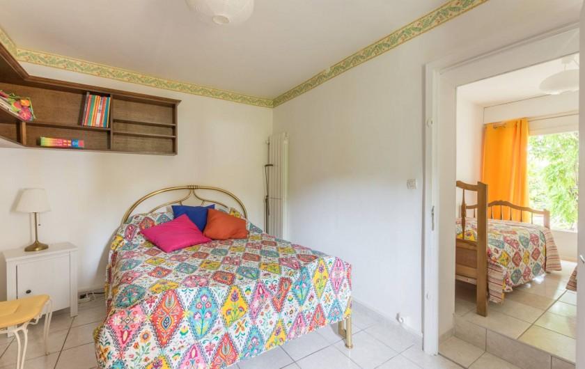 Location de vacances - Appartement à Saint-Jean-de-Fos - les deux chambres