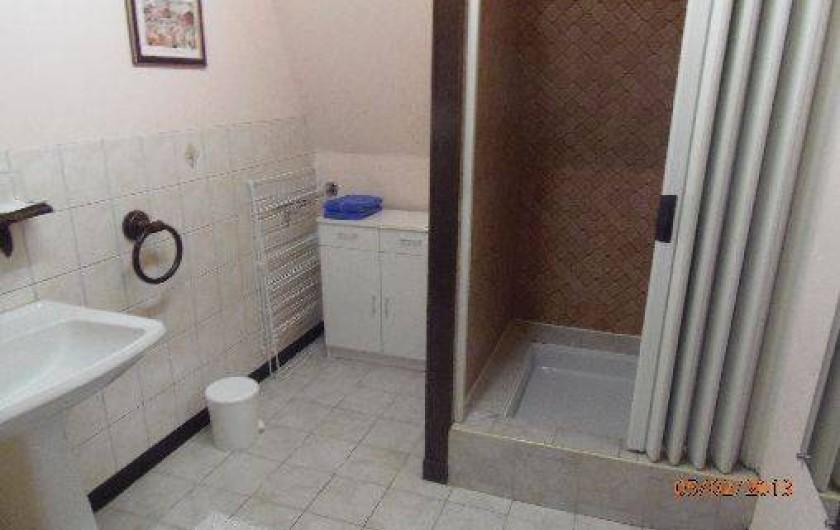 Location de vacances - Appartement à Cayeux-sur-Mer - Salle d eau