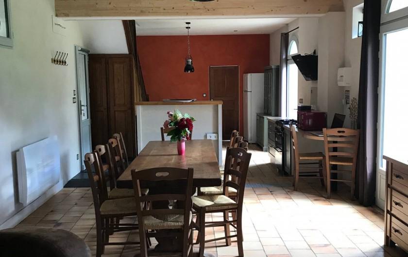 Location de vacances - Gîte à Villandry - Salle à manger