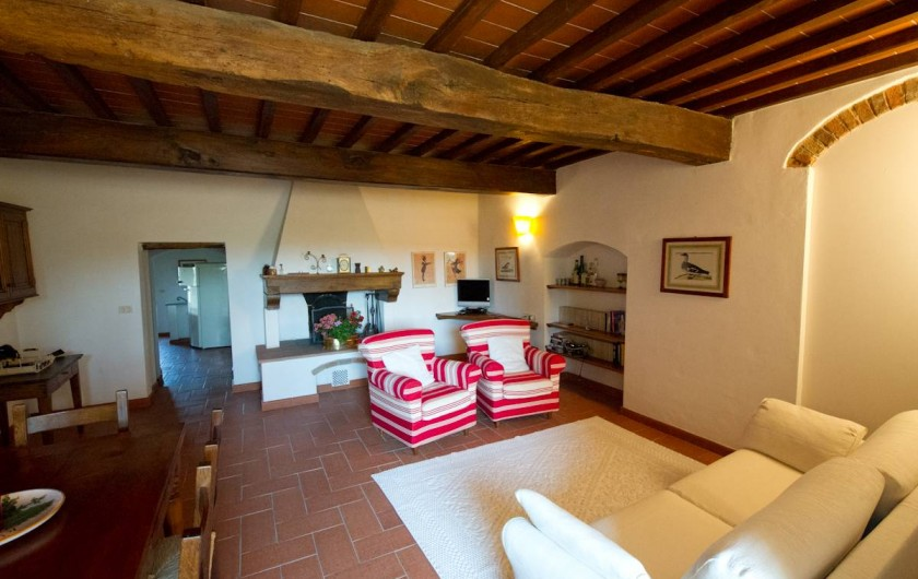 Location de vacances - Chalet à San Casciano in Val di Pesa - Living  room