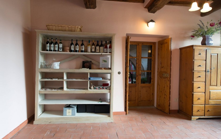 Location de vacances - Chalet à San Casciano in Val di Pesa - The Veranda and wine shop