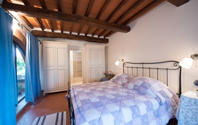 Location de vacances - Chalet à San Casciano in Val di Pesa - The double bedroom on the ground floor