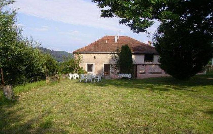 Location de vacances - Gîte à Brouvelieures - Côté Jardin