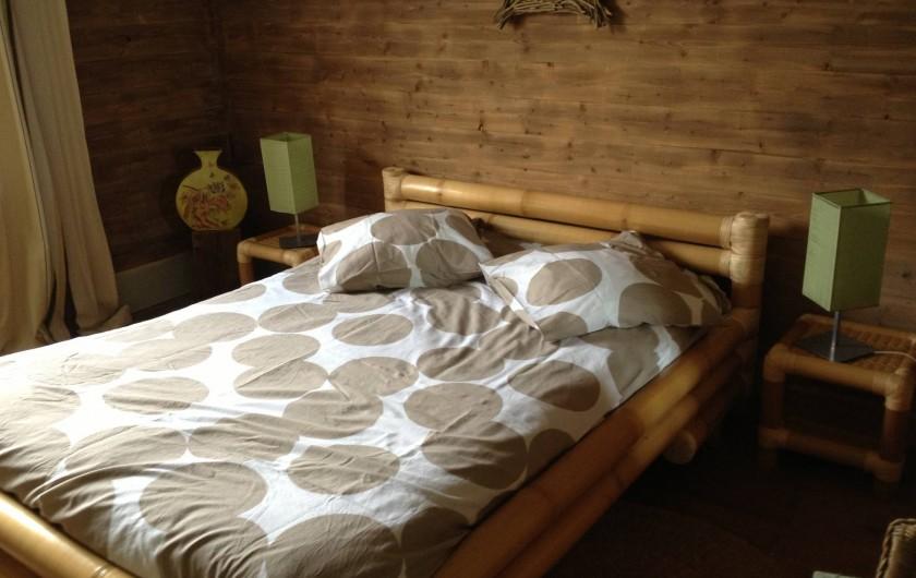 Location de vacances - Gîte à Brouvelieures - Chambre Bambou partie MAISON