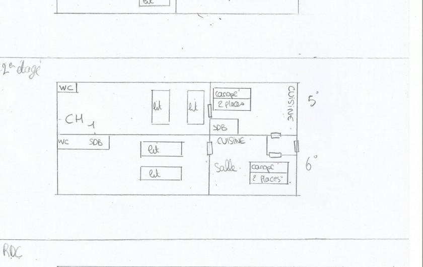 Location de vacances - Maison - Villa à Fort-Mahon-Plage - Plan detaillé