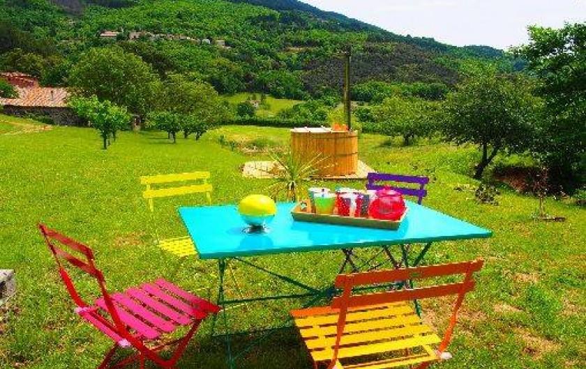 Location de vacances - Gîte à Meyras