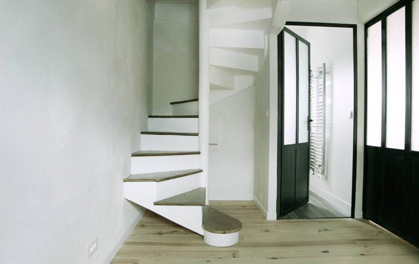 Location de vacances - Gîte à Miers - chambre 292 escalier mezzanine