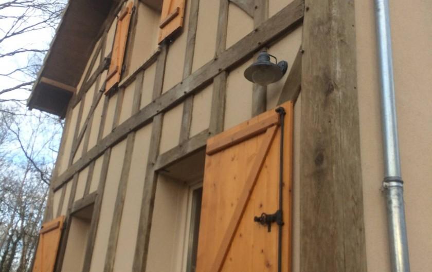 Location de vacances - Gîte à Crouy-sur-Cosson - Colombages typiques SOLOGNE