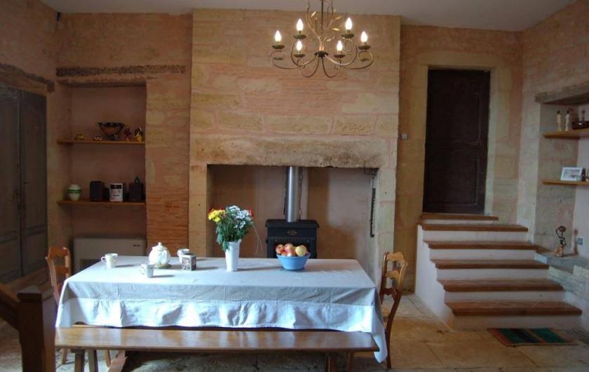 Location de vacances - Gîte à Saint-Médard-d'Excideuil - Petite salle à manger La Girouette