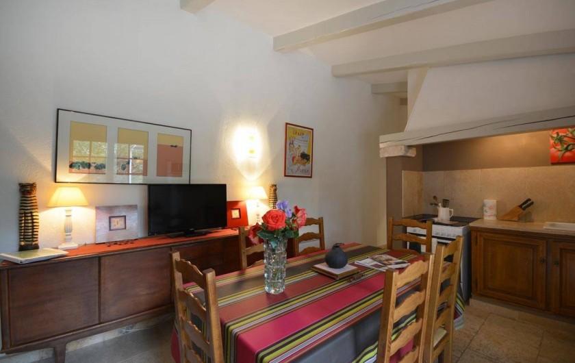 Location de vacances - Mas à Les Baux-de-Provence - 1 des séjours cuisine