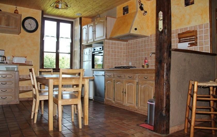 Location de vacances - Maison - Villa à Cercy-la-Tour - Cuisine