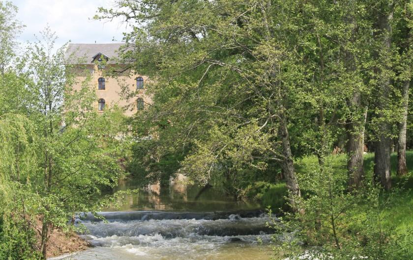 Location de vacances - Maison - Villa à Cercy-la-Tour - Cascade devant le Moulin