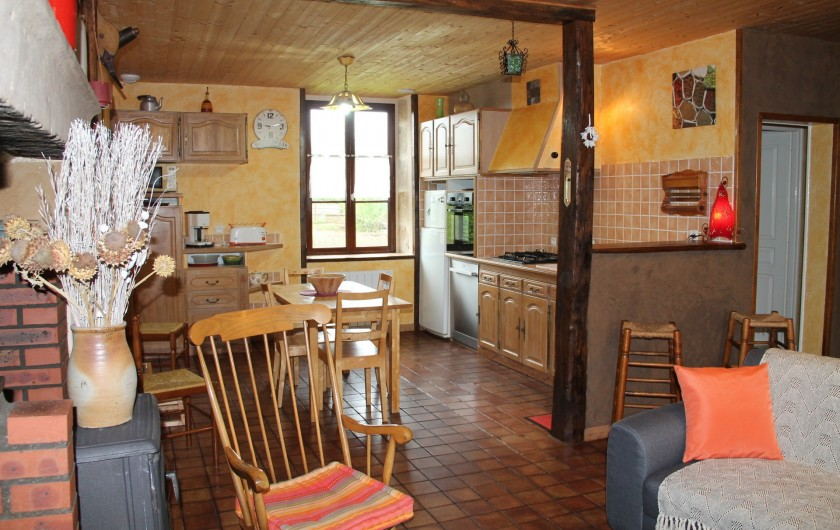 Location de vacances - Maison - Villa à Cercy-la-Tour - Séjour