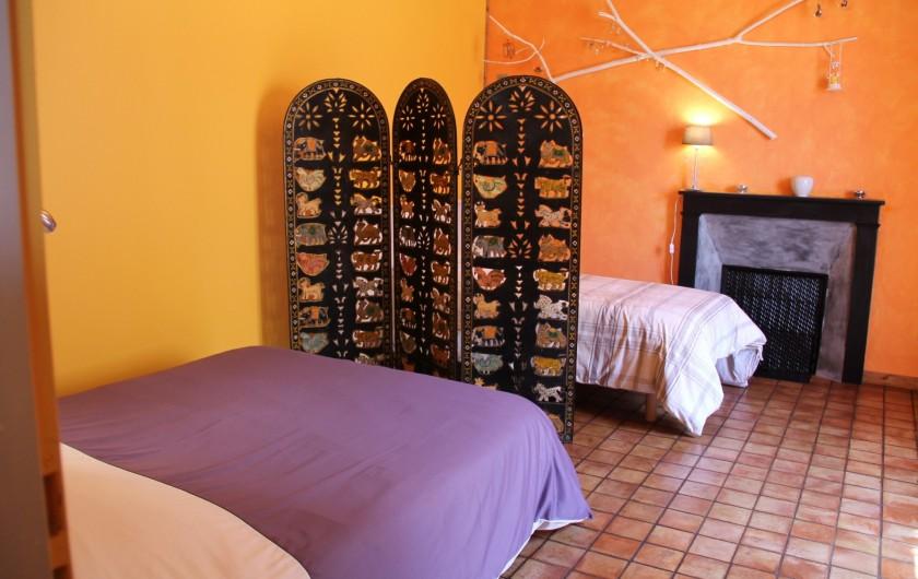 Location de vacances - Maison - Villa à Cercy-la-Tour - Chambre 1