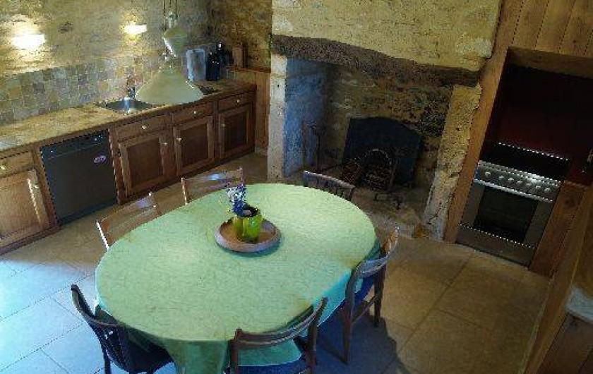 Location de vacances - Gîte à Sergeac - cuisine
