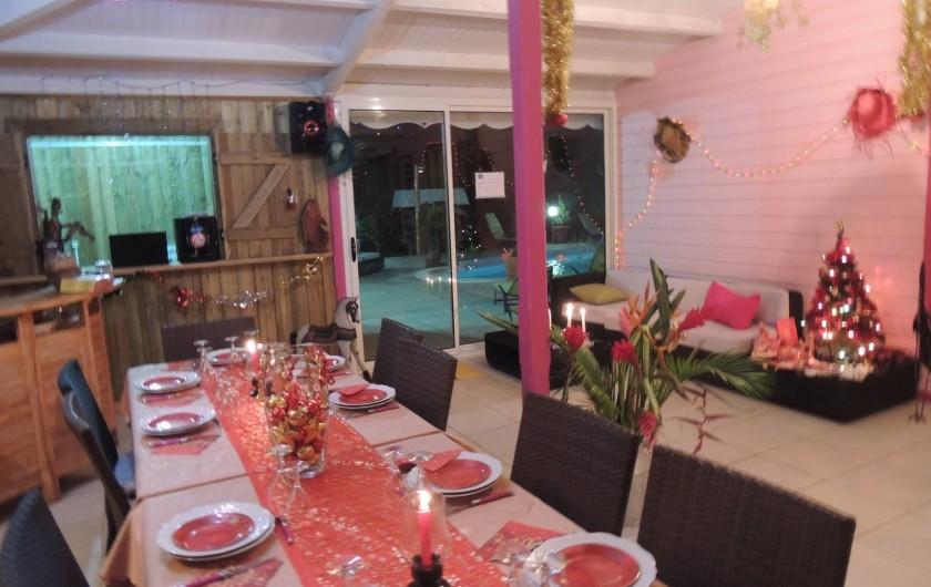 Location de vacances - Gîte à Le Moule - Accueil dédié à tous les vacanciers - pot d'accueil et repas !