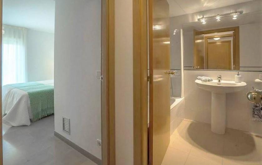 Location de vacances - Appartement à Sant Antoni de Calonge - salle de bain extra