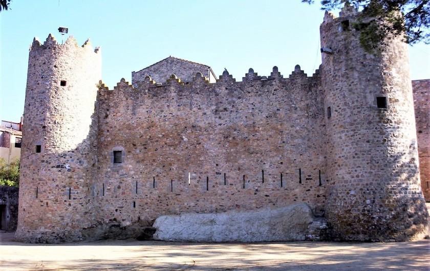 Location de vacances - Appartement à Sant Antoni de Calonge - Château du Calonge - quartier historique
