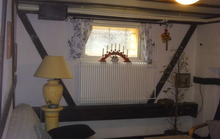Location de vacances - Appartement à Colmar - Lit convertible  confortable