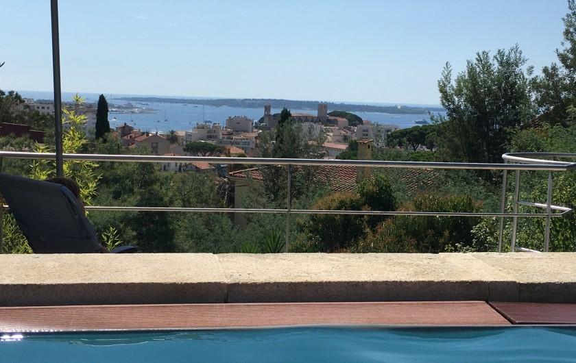 Location de vacances - Villa à Cannes - entrée
