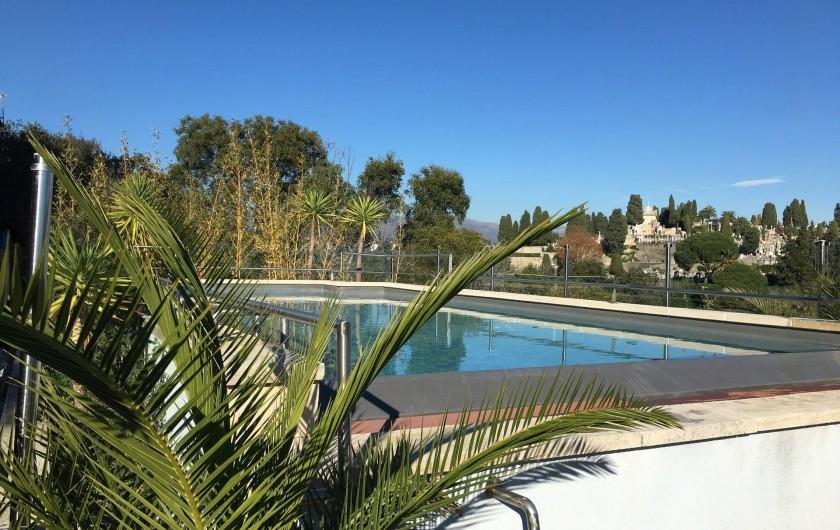 Location de vacances - Villa à Cannes - Piscine sur le toit