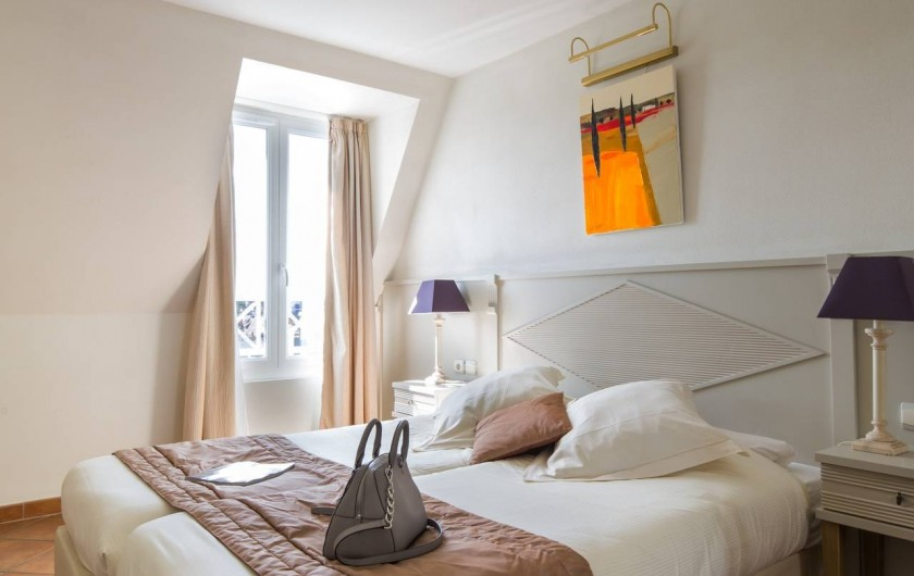 Location de vacances - Hôtel - Auberge à Deauville - Chambre Appartement Confort