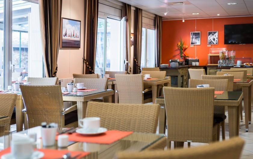 Location de vacances - Hôtel - Auberge à Deauville - Salle de petits déjeuners