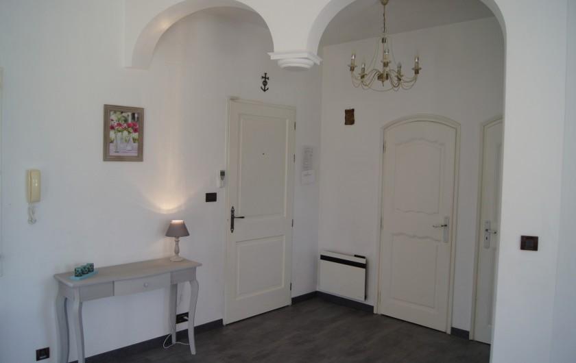 Location de vacances - Villa à Vauvert - Le hall d'entrée