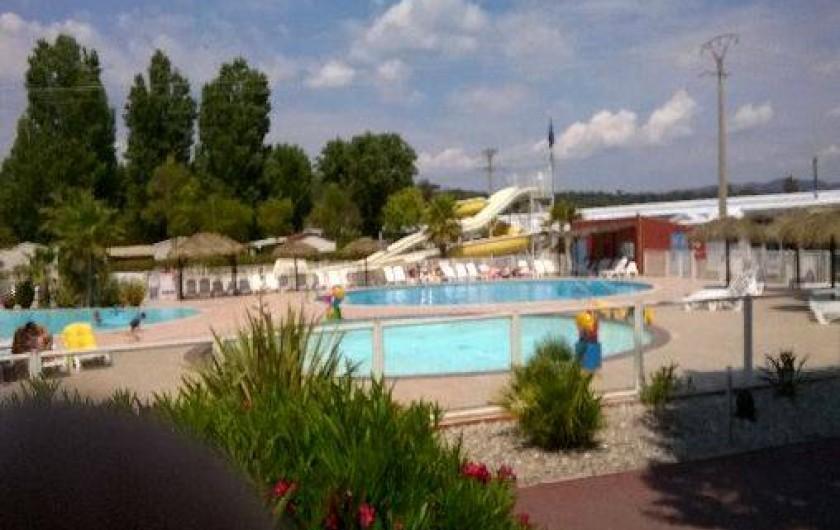 Location de vacances - Bungalow - Mobilhome à Fréjus - les piscines  les toboggans  les pentagliss