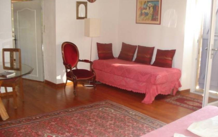 Location de vacances - Chambre d'hôtes à Cremps - la Haute Serre lit 90
