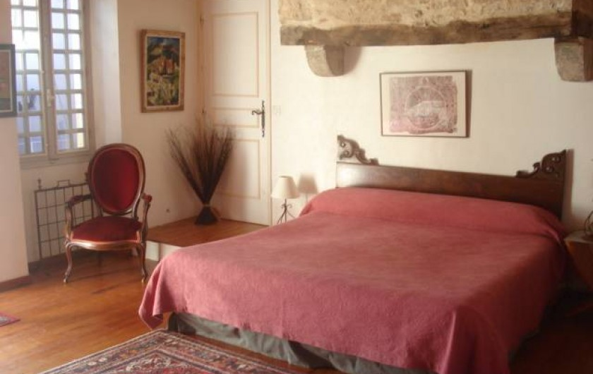 Location de vacances - Chambre d'hôtes à Cremps - la Haute Serre lit 180