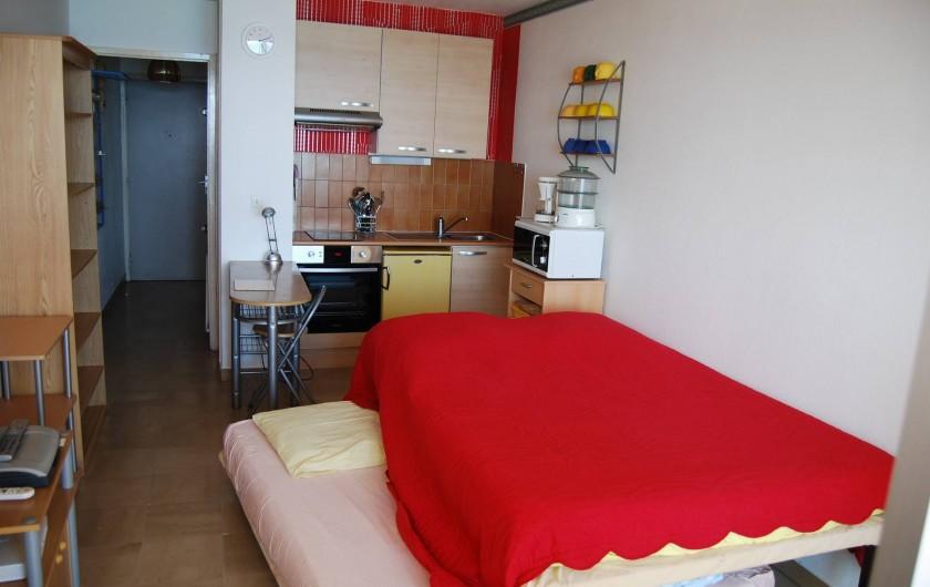 Location de vacances - Studio à Cannes la Bocca - 2 lits double pour 2 x 2 personnes