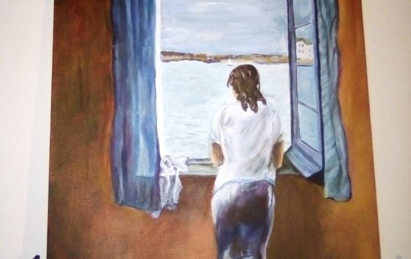 Location de vacances - Bungalow - Mobilhome à Le Buisson-de-Cadouin - Je me garde des moments pour peindre