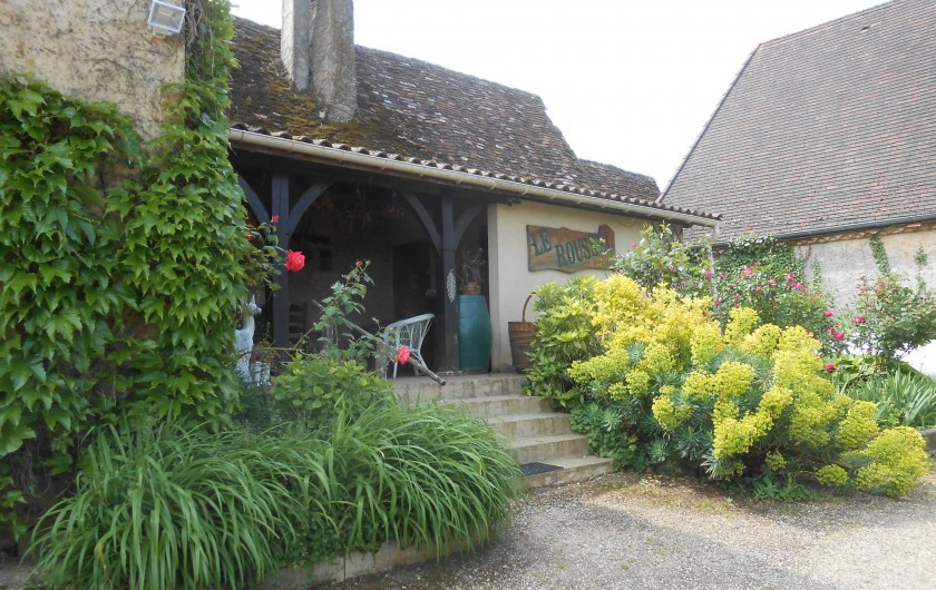 Location de vacances - Bungalow - Mobilhome à Le Buisson-de-Cadouin - Entrée