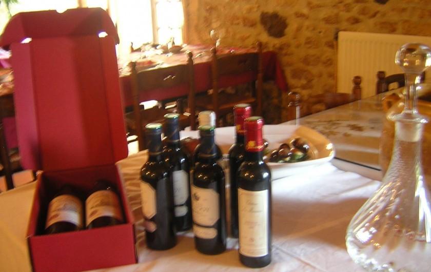 Location de vacances - Bungalow - Mobilhome à Le Buisson-de-Cadouin - Le périgord, c'est aussi le pays de bons vins de Bergerac