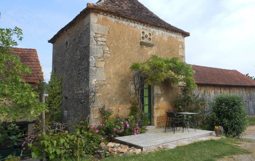 Location de vacances - Bungalow - Mobilhome à Le Buisson-de-Cadouin - Pigeonnier du XVIIème