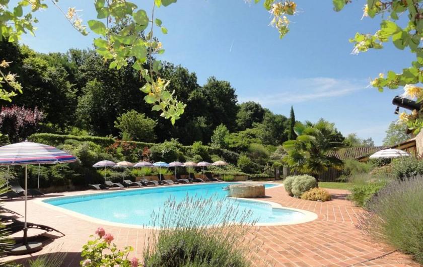 Location de vacances - Chambre d'hôtes à Saint-Pierre de Caubel - La piscine