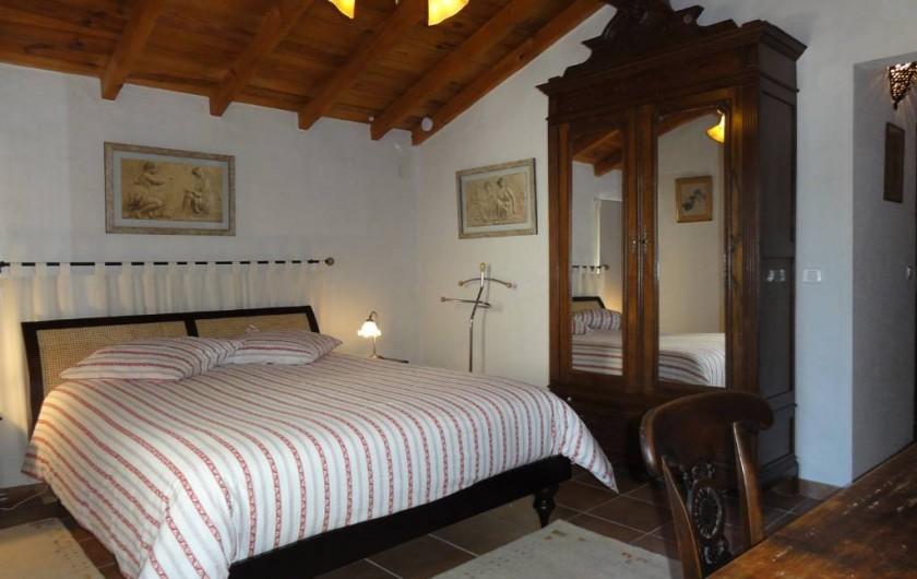 Location de vacances - Chambre d'hôtes à Saint-Pierre de Caubel - La chambre Joséphine