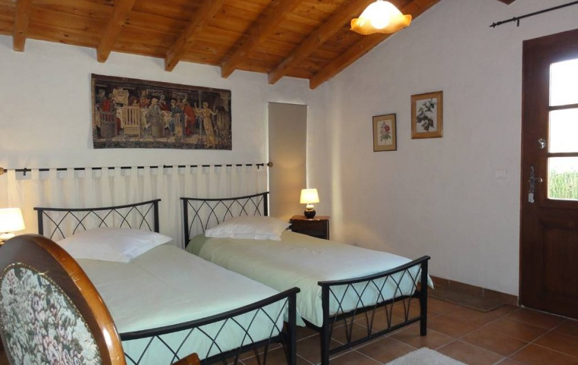 Location de vacances - Chambre d'hôtes à Saint-Pierre de Caubel - La chambre Hilaire
