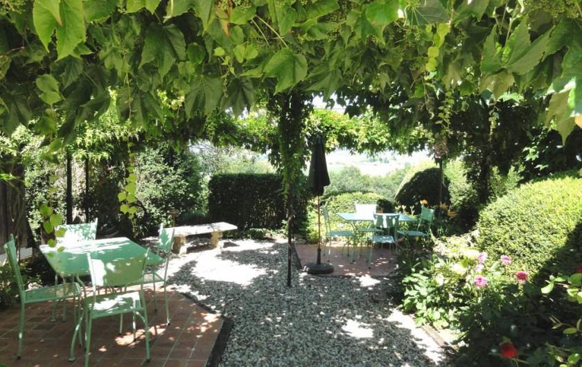 Location de vacances - Chambre d'hôtes à Saint-Pierre de Caubel - La tonnelle